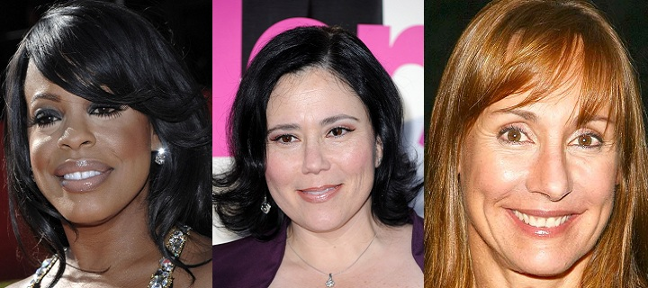 Laurie Metcalf, Alex Borstein och Niecy Nash