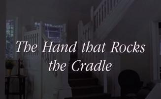 Handen som gungar vaggan