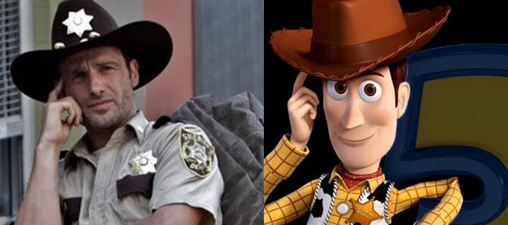 The Walking Dead vs Toy Story