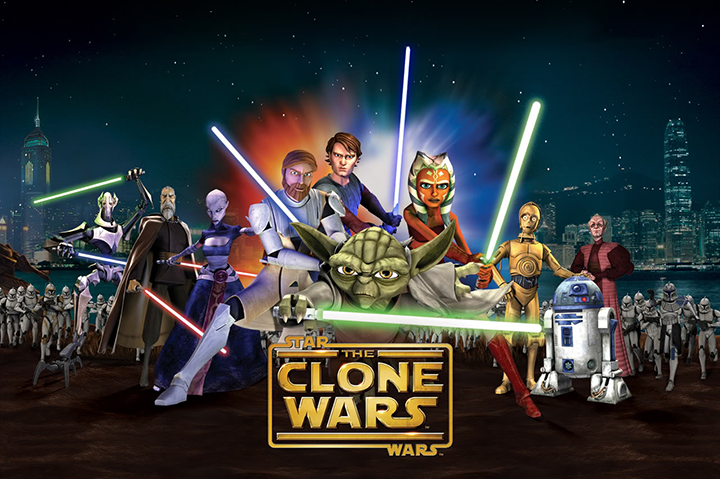 the Clone Wars Kommer Till Netflix