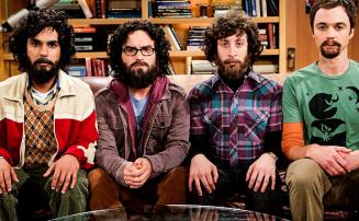 3 till sasonger med big Bang Theory