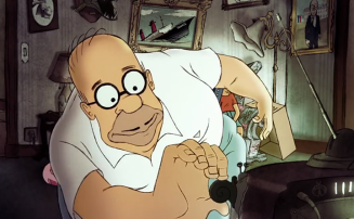 the Simpsons Intro by Sylvian Chomet