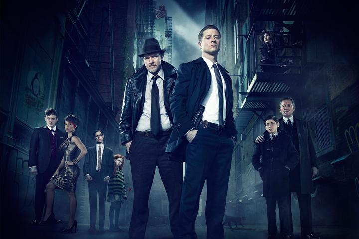 Gotham kommer till Netflix