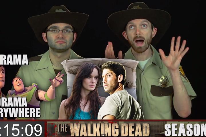 The Walking Dead season 1 to season 4 in 9 minutes