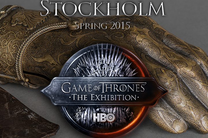 HBO Game Of Thrones Exhibition Stockholm 2015
