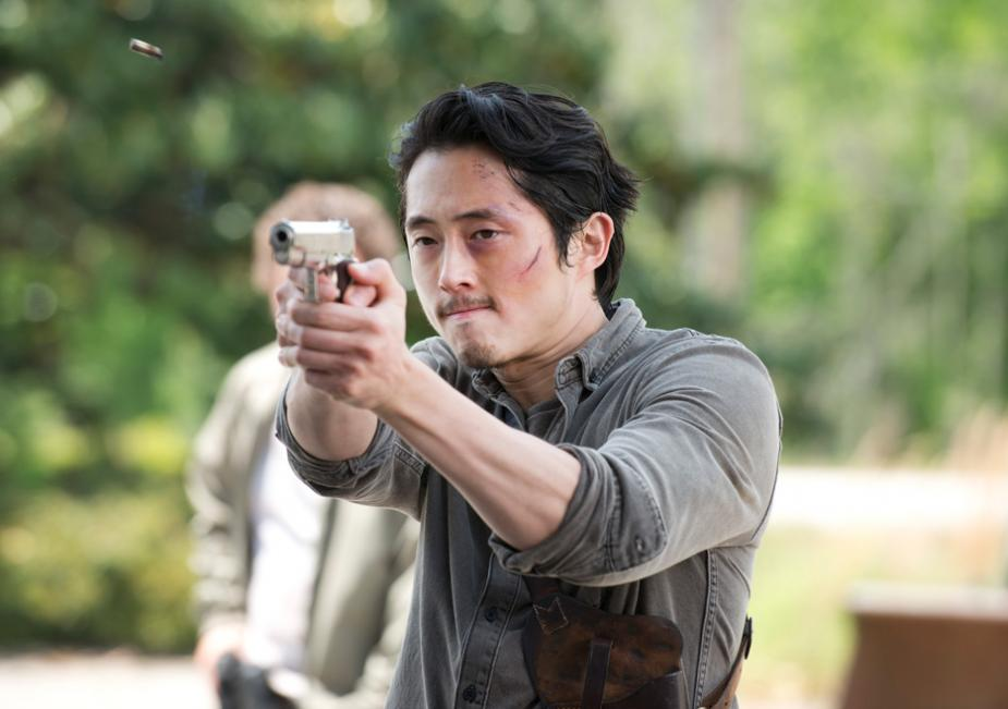 Glenn Rhee (Steven Yeun) in Season 6 Photo by Gene Page/AMC