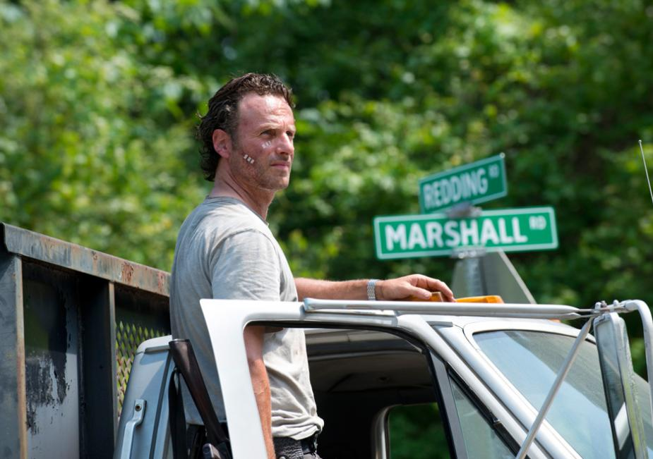 Rick Grimes (Andrew Lincoln) in Season 6 Photo by Gene Page/AMC