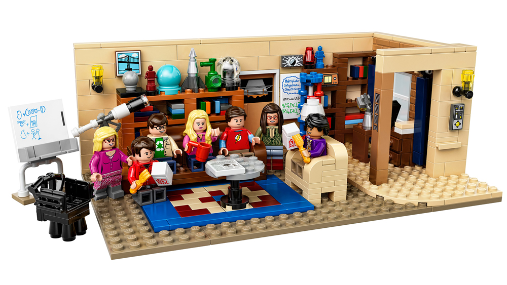 The Big Bang Theory Lego Set