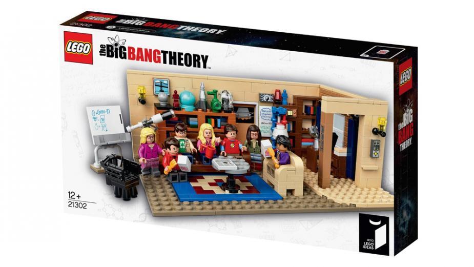 The Big Bang Theory Lego Set The Box